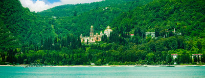 Cathedral in Abhazia Stock Images