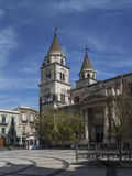 Cathedral of Acireale Stock Photos