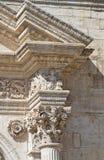 Cathedral of Acquaviva delle Fonti. Puglia. Italy. Royalty Free Stock Photo
