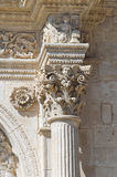 Cathedral of Acquaviva delle Fonti. Puglia. Italy. Royalty Free Stock Photos