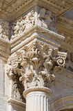 Cathedral of Acquaviva delle Fonti. Puglia. Italy. Royalty Free Stock Images