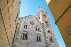 Cathedral of Acquaviva delle fonti. Puglia. Italy. Stock Photos