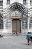 Cathedral aka Duomo di Genova or Cattedrale di San Lorenzo Stock Image