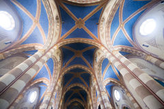 Cathedral of Alba (Cuneo, Italy), interior Stock Photos