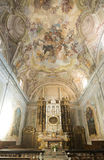 Cathedral of Alba (Cuneo, Italy), interior Stock Images