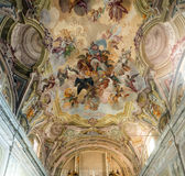 Cathedral of Alba (Cuneo, Italy), interior Royalty Free Stock Photography