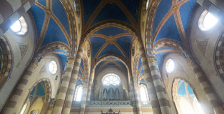 Cathedral of Alba (Cuneo, Italy), interior Stock Photography