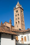 Cathedral of Alba (Cuneo, Italy) Stock Image