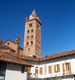 Cathedral of Alba (Cuneo, Italy) Royalty Free Stock Photos