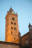 Cathedral of Alba at evening Royalty Free Stock Images