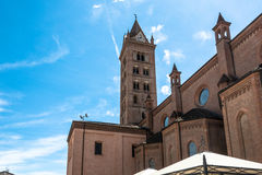 The Cathedral of Alba, Italy Royalty Free Stock Photo