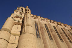Cathedral of Albi, Midi-Pyrenees,France. Cathedral of Albi, France (Gothic Style royalty free stock photography