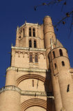 Cathedral of Albi, Midi-Pyrenees,France. Cathedral of Albi, France (Gothic Style royalty free stock photo