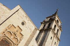 Cathedral in Alcala Royalty Free Stock Photo