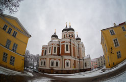 Cathedral of Alexander Nevsky in Tallinn Royalty Free Stock Photos
