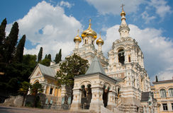 Cathedral of Alexander Nevsky, Ukraine Stock Photos