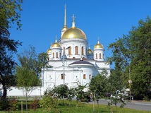 Cathedral of Alexander Nevsky in Yekaterinburg Royalty Free Stock Photo