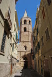 Cathedral of Alghero, Sardinia - Italy Royalty Free Stock Photography