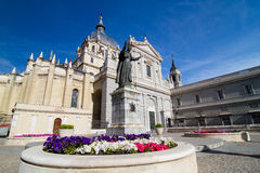 Cathedral of Almudena Stock Photos