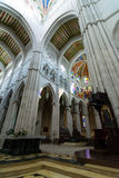 Cathedral of Almudena altar, Madrid Stock Image