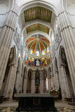 Cathedral of Almudena - altar Royalty Free Stock Photo