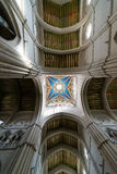 Cathedral of Almudena ceiling Royalty Free Stock Photos