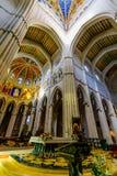 Cathedral of Almudena Interior Stock Photo