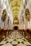 Cathedral of Almudena Interior Stock Photography