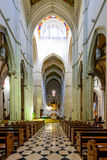 Cathedral of Almudena  Interior Royalty Free Stock Photography