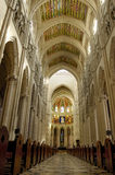 Cathedral of Almudena, Madrid. Principal dome Stock Image