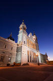 Cathedral of Almudena Stock Photography