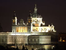 Cathedral of Almudena, Madrid, Spain Stock Photo