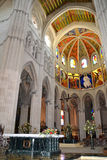 Cathedral of Almudena, Madrid, Spain Royalty Free Stock Photos