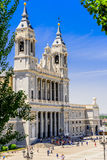 Cathedral of Almudena Royalty Free Stock Photo