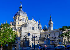 Cathedral of Almudena Stock Images