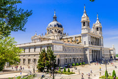 Cathedral of Almudena Royalty Free Stock Photography
