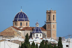 Cathedral of Altea, Spain Royalty Free Stock Photography