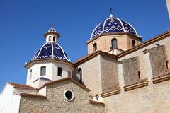 Cathedral of Altea, Spain Stock Photos