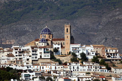 Cathedral of Altea, Spain Royalty Free Stock Photo