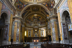 Cathedral of Amelia. Umbria. Italy. Stock Photography
