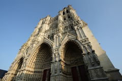 Cathedral of Amiens Stock Photo