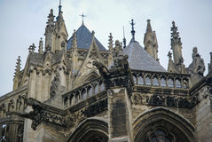 Cathedral, Amiens, France Stock Images