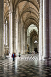 Cathedral in amiens, france Stock Photos