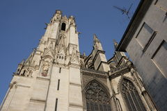 Cathedral of Amiens Royalty Free Stock Photography
