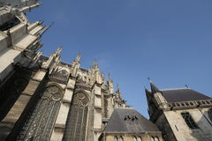 Cathedral of Amiens Stock Photography