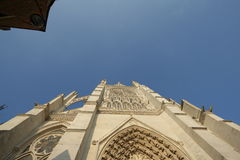 Cathedral of Amiens Royalty Free Stock Image