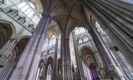 Cathedral of Amiens, picardie, france Stock Image