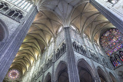 Cathedral of Amiens, picardie, france Royalty Free Stock Photo