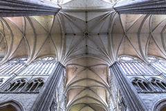 Cathedral of Amiens, picardie, france Royalty Free Stock Photos