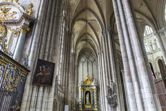 Cathedral of Amiens, picardie, france Stock Photography